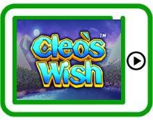 free cleo's wish ipad, iphone, android slots pokies