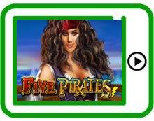 free five pirates ipad, iphone, android slots pokies
