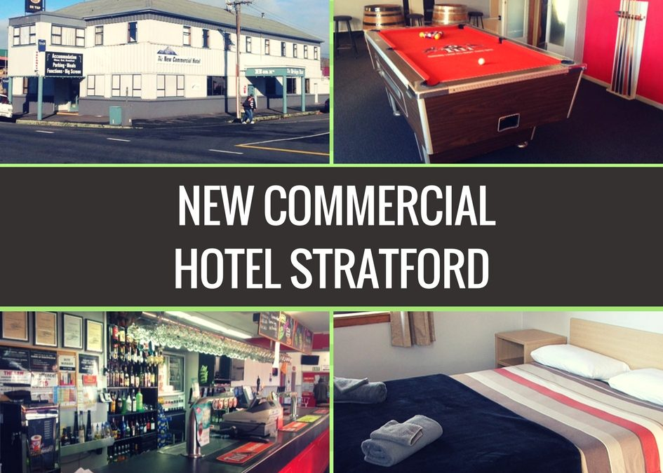 The New Commercial Hotel Stratford Review