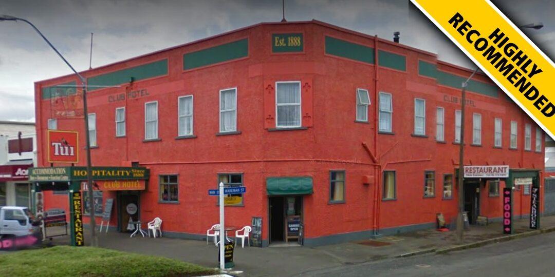 The Pahiatua Club Hotel Review