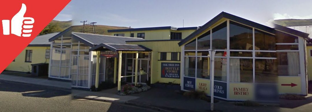 Oak Tree Inn Clinton, Otago Review