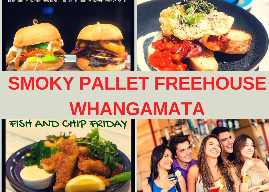 The Smoky Pallet Free House Whangamata Guide